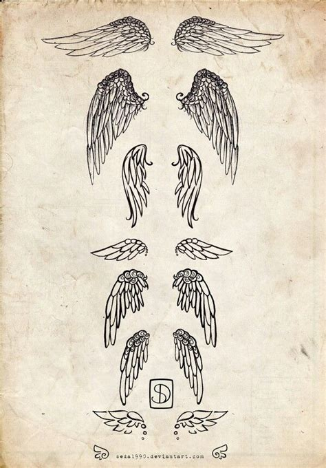lower back wing tattoo designs wings idea the bottom one either on