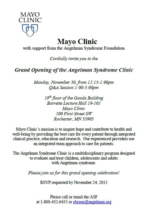 Clinic Opening Invitation Card