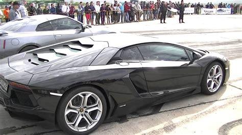 Lamborghini Aventador Vs Nissan Gtr Lamborghini Aventador 700 Hp Vs Nissan Gtr 700 Hp