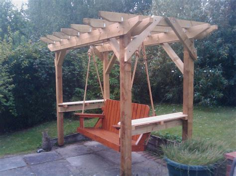 how to build a freestanding swing pdf plans porch swing pergola plans download plans