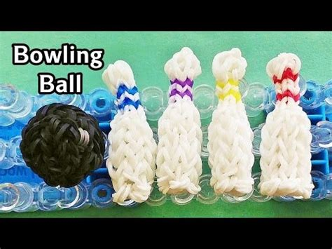 tutorial bowling youtube rainbow loom charms 3d bowling ball with loom bands how