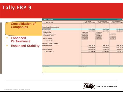 video tutorial for tally erp 9 tally erp 9 a preview