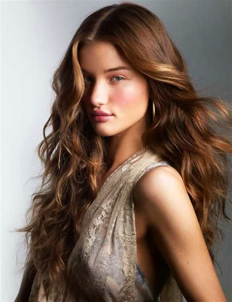 celebrity hairstyles exciting women model long layered