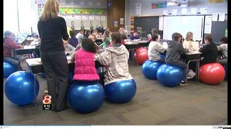 yoga ball desk chair sara wright indiana teacher swaps exercise balls for