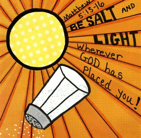 be salt and light matthew 5 13 16 www