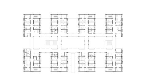general hospital floor plan niger general hospital in niamey by citic architectural