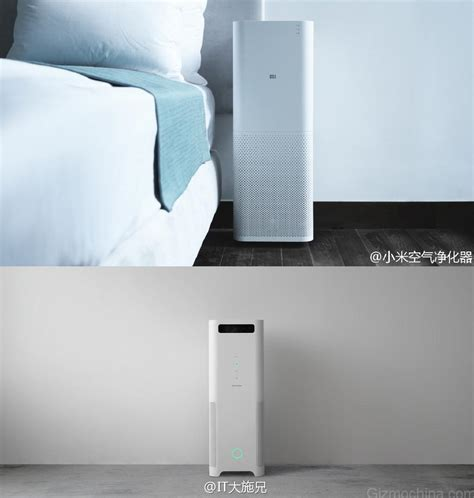 xiaomis air purifierborrowing design  balmuda airengine