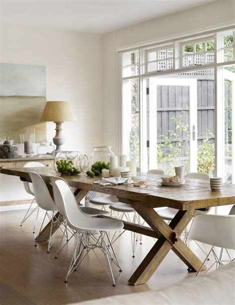 Dining Room Table And Bench Set by Design Salle 224 Manger De Style Campagne Chic Et Rustique