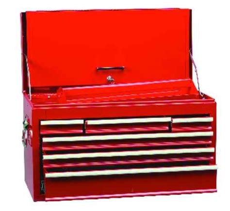 kennedy 6 drawer tool box kennedy ken594 5240k red 6 drawer professional tool chest