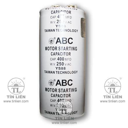 abc motor starting capacitor motor starting capacitor 250v 600mf uf abc taiwan premium class