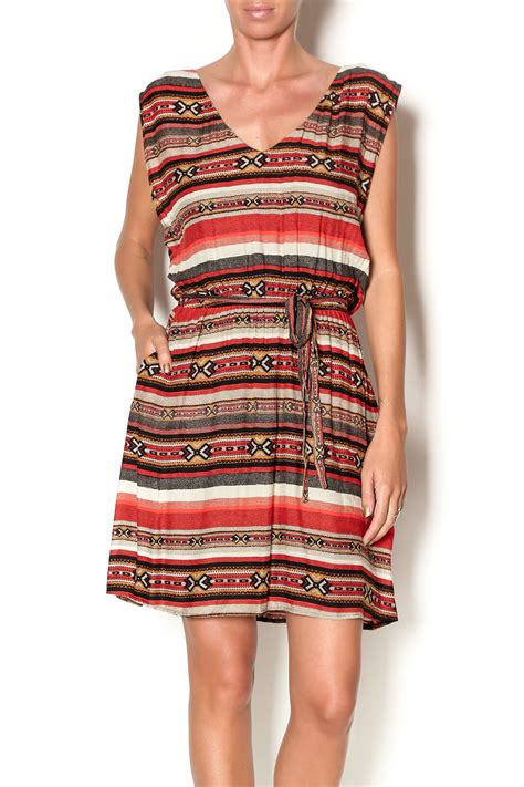 bbd tribal print dress from new york by shoptiques