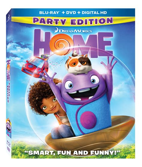dreamworks animation s home available on dvd on 7