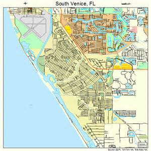 where is venice florida on the map south venice florida map 1268100