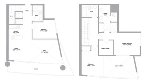 Mint Floor Plans | floorplans mint miami rentals