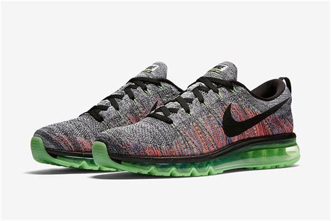 Colors Summer 2017 nike flyknit air max grey multicolor 620469 103 sneaker