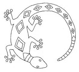 lizards coloring pages bowl art patterns pinterest
