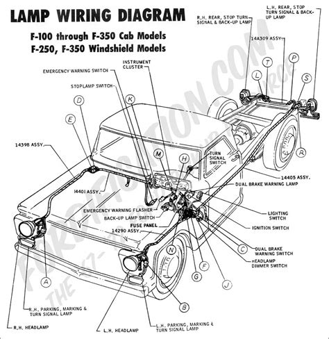 lighting wiring diagram for 1977 ford f150 42 wiring