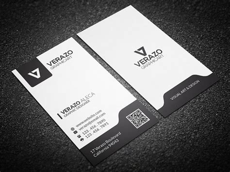 black and white calling card template black white vertical business card business card