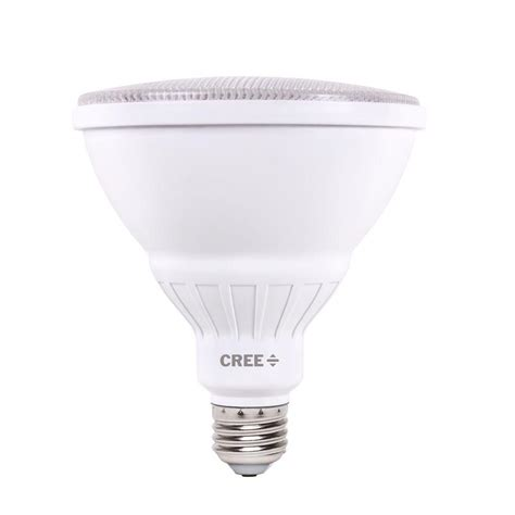 Cree Dimmable Led Light Bulbs Cree 90w Equivalent Bright White Par38 Dimmable Led 27 Degree Spot Light Bulb Bpar38 1503027t