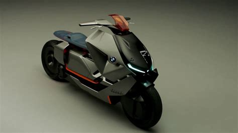 Bmw Motorrad Electric by Bmw Motorrad Concept Link Electric Scooter Youtube