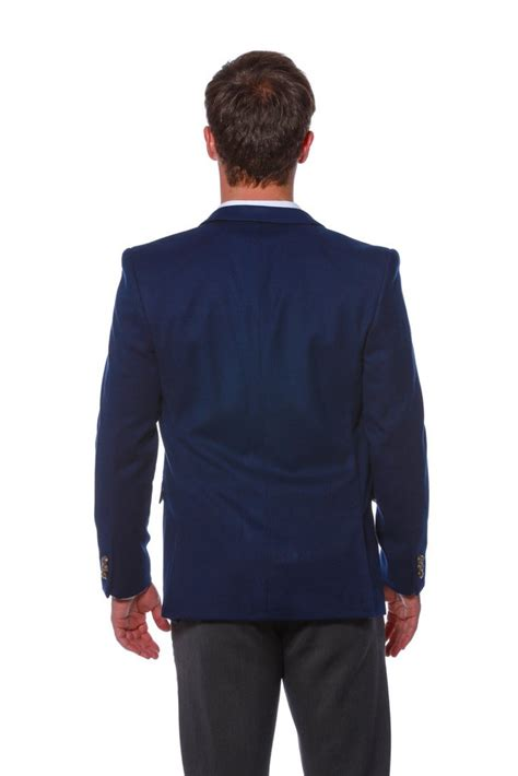 Blazer Wolly navy blazer with american flag lining the wooly winter
