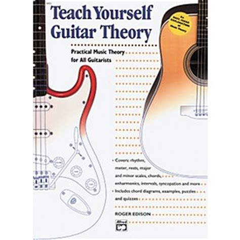 guitar book for beginners teach yourself how to play guitar songs guitar chords theory technique book lessons books alfred teach yourself guitar theory book musician s friend