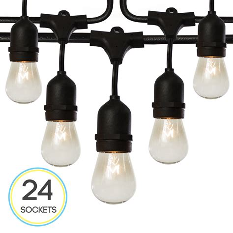 string light bulbs outdoor best in outdoor string lights helpful customer