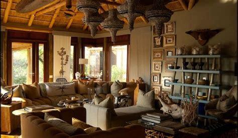 Safari Style Home Decor decoraci 243 n de living estilo 201 tnico