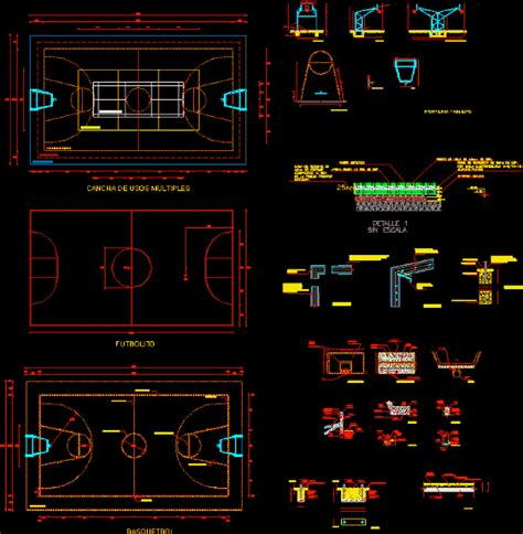 sports fields dwg detail  autocad designs cad