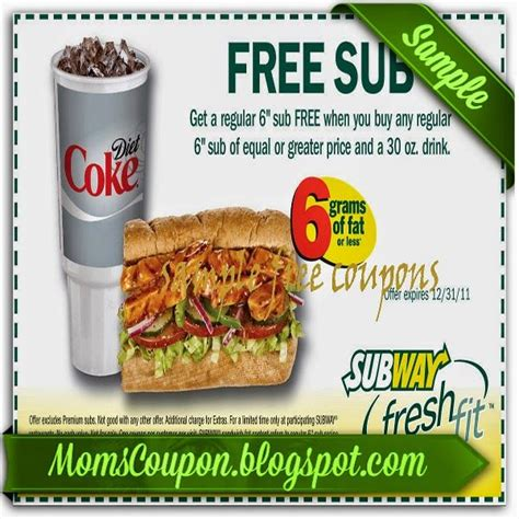 printable subway coupons march 2015 printable subway coupon code february 2015 local coupons