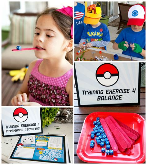 themes and games easy pokemon birthday party ideas frog prince paperie