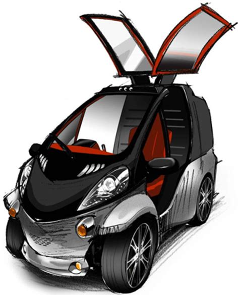 smart car 1 seater toyota reveals the smart insect concept car and driver