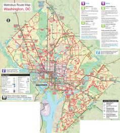 Big Bus Washington Dc Map by 2200 X