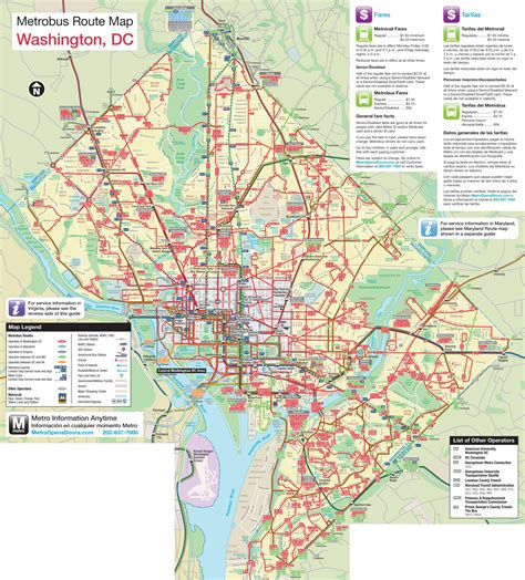 maps dc large detailed metro and map of washington d c washington d c large detailed metro and