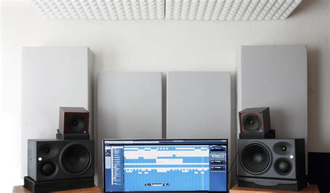 awesome acoustic design for the home studio ideas