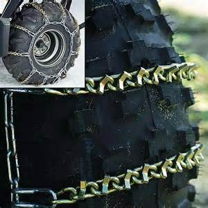 Dirt Bike Tire Chains Winter Set Ups Info Needed On Tires And Bike Mods Page
