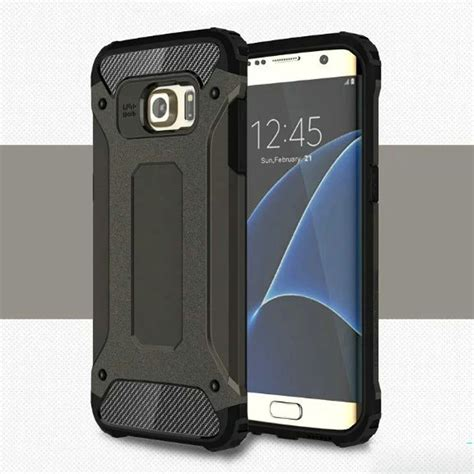 Samsung Galaxy S7 Edge Armor Soft Cover Casing Sarung Bumper Tpu wholesale samsung galaxy s7 edge ballistic armor black