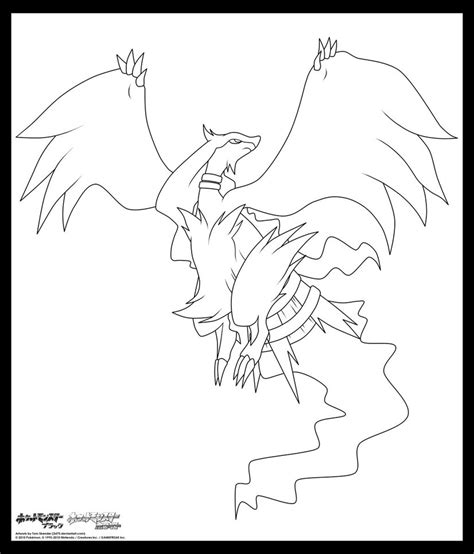 pokemon coloring pages of zekrom and reshiram pokemon reshiram coloring pages images pokemon images