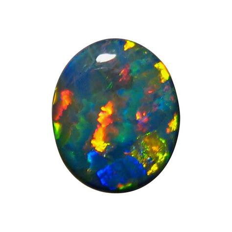 black opal rare 6 85 carat black opal stone unset black opals