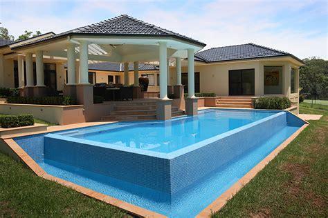 pool photos wet edge style pools wet edge 10 by sydney pool builder