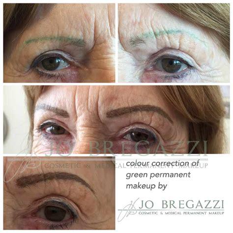 tattoo eyebrows correction correction of permanent makeup mistakes jo bregazzi