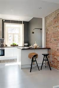 kitchen walls 20 minimalist kitchens with exposed brick walls home design and interior