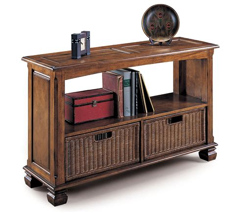 sofa table with storage surrey sofa table with storage baskets by oj commerce