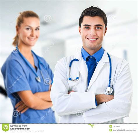 doctor and nurse doctor and nurse royalty free stock images image 23417889