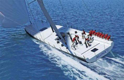 ugly but fast yachting world - Ocean Scow