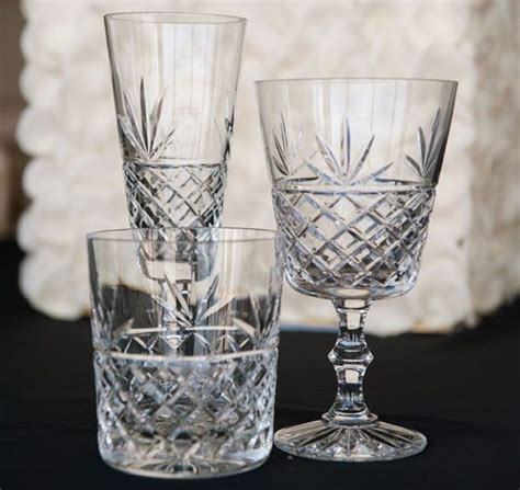 crystal barware cut crystal glasses