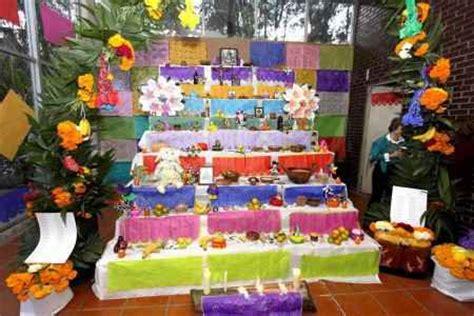 imagenes de como decorar un altar de muertos fotos de altares de muertos