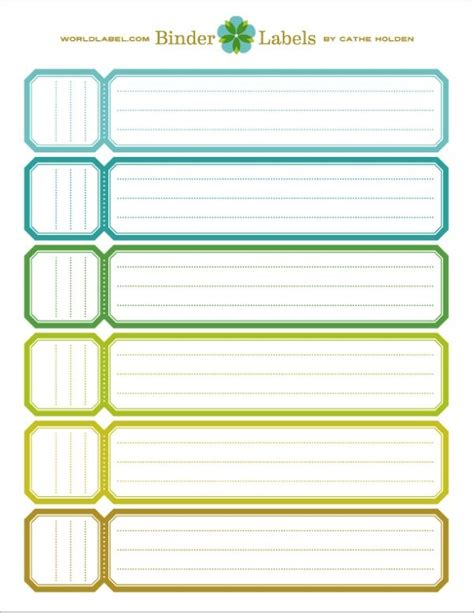 best 25 binder spine labels ideas on pinterest