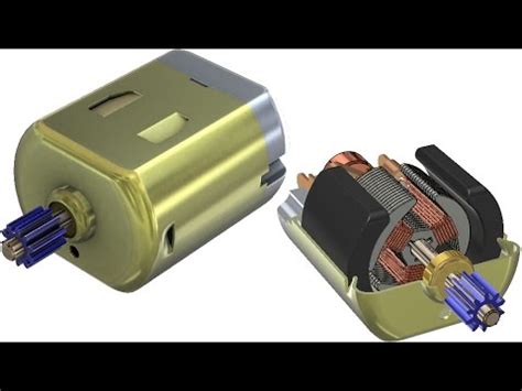 tutorial solidworks motor solidworks tutorial 267 dc motor youtube