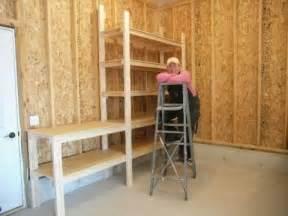 Closet Bookshelves by Shelves For Mick Amp Tom S Garage Youtube